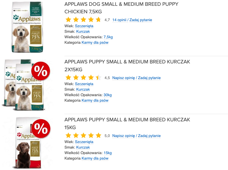applaws puppy small & medium breed