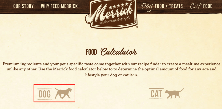 kalkulator karmy dla psa