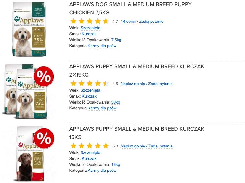 applaws puppy small & medium breed
