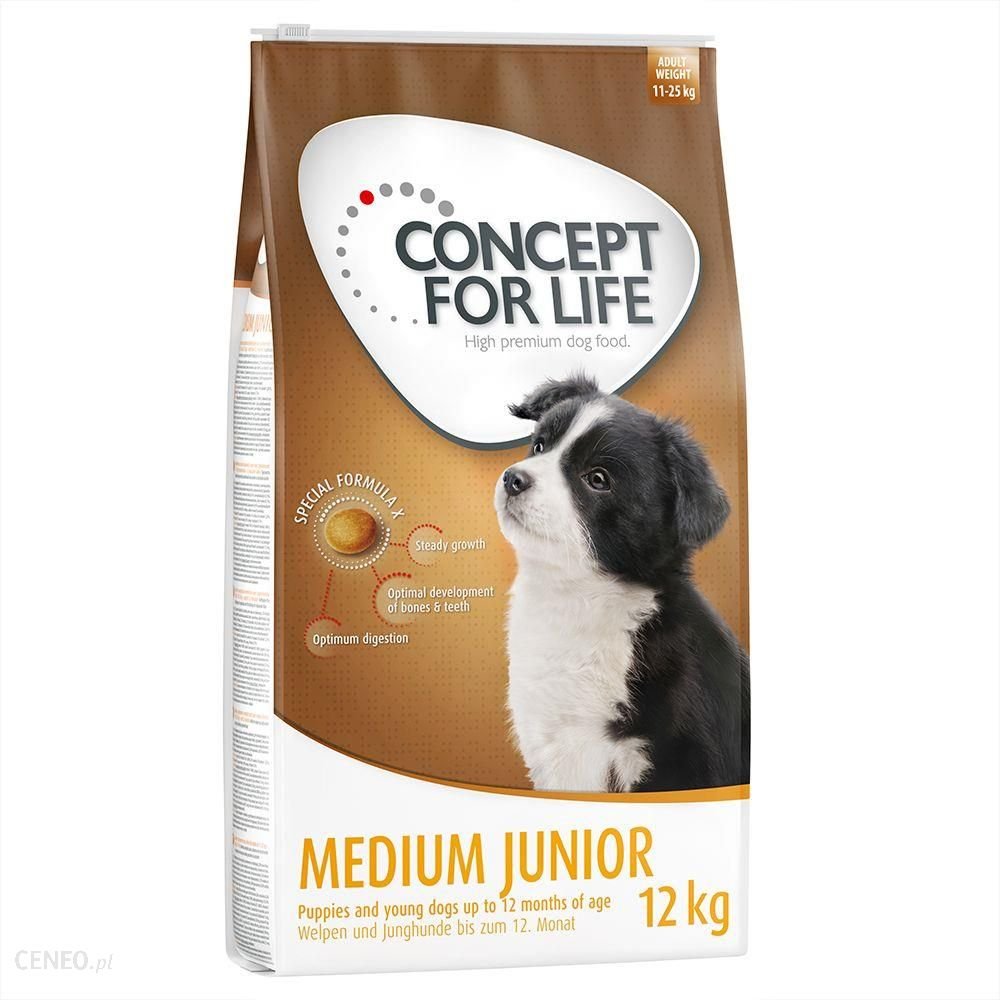 Concept for Life Medium Junior - karma dla szczeciąt